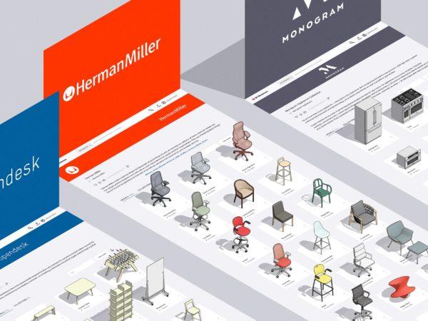 Catalogue marques sur 3D Warehouse