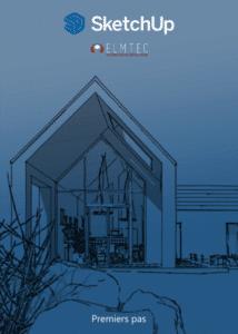 Couverture PDF Premiers pas avec SketchUp