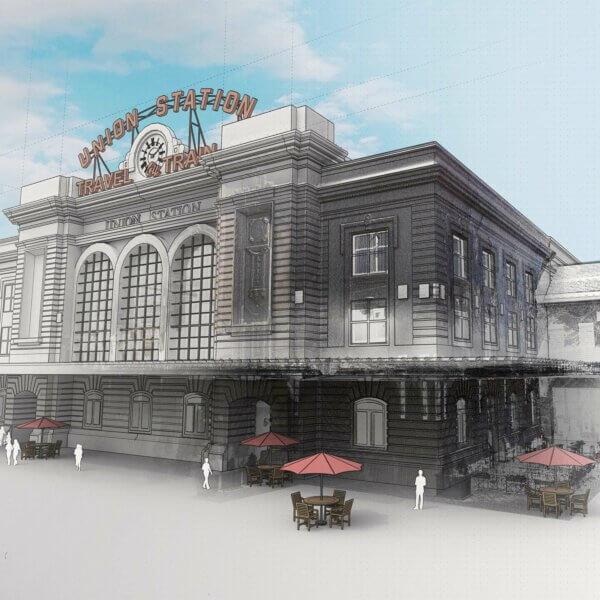Union Station en nuage de points avec Scan Essentials