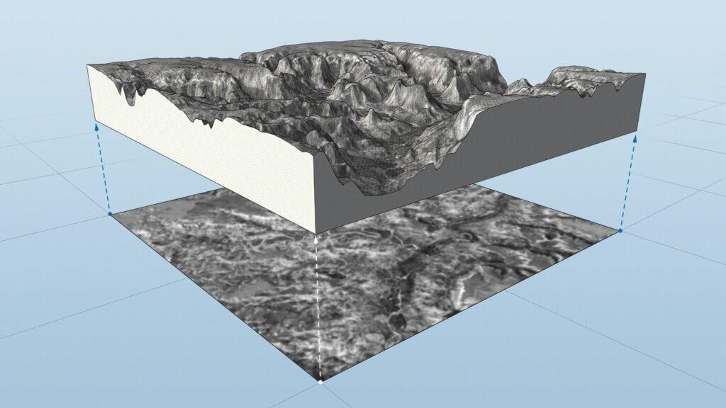 Extension terrain